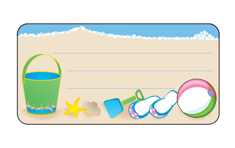 Picture of Nametag - Beach