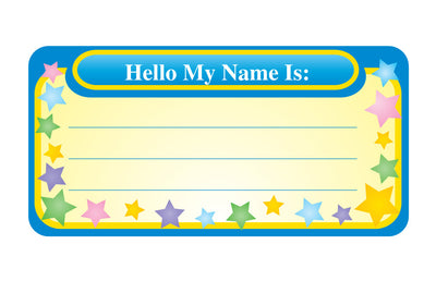 Nametag - My Name Is - Creative Shapes Etc.