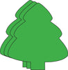 Large Single Color Cut-Out - Evergreen