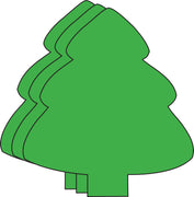 Large Single Color Creative Foam Cut-Outs - Evergreen Tree