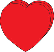 Large Single Color Cut-Out - Heart