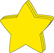"5.5"" Star Large Single-Color Creative Cut-Outs, 31 cut-outs in a pack for Star Inspired Classroom/ School Craft Projects"