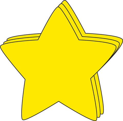 Picture of Large Single Color Cut-Out - Star