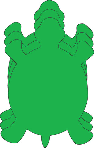 Picture of Large Single Color Cut-Out - Turtle