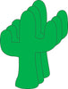 Large Single Color Cut-Out - Cactus - Creative Shapes Etc.