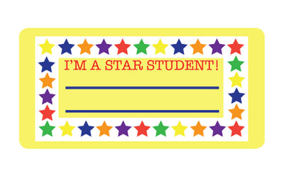 Nametag - Star Student