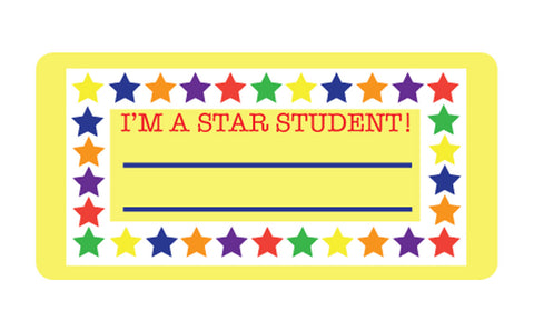 Picture of Nametag - Star Student