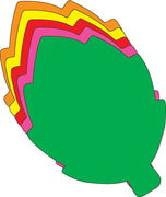 Large Assorted Color Creative Foam Cut-Outs - Leaf - Creative Shapes Etc.