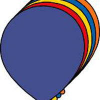 Large Assorted Color Creative Foam Cut-Outs - Balloon - Creative Shapes Etc.