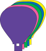 "Hot Air Balloon Assorted Color Creative Cut-Outs, 5.5"" - Creative Shapes Etc."