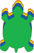"Turtle Assorted Color Creative Cut-Outs- 5.5"" - Creative Shapes Etc."
