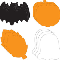 Large Cut-Out Set - Halloween