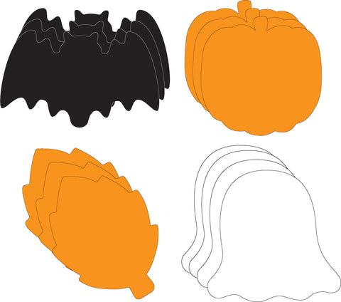 Picture of Large Cut-Out Set - Halloween