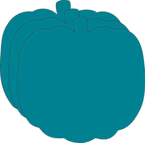 Picture of Large Single Color Cut-Out - Teal Pumpkin