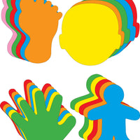 Small Cut-Out Set - Assorted Body Parts - Creative Shapes Etc.