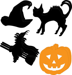 Small Cut-Out Set - Halloweenie - Creative Shapes Etc.
