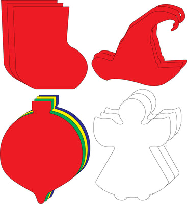 Small Cut-Out Set - Christmas - Creative Shapes Etc.