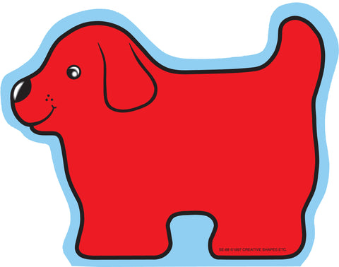Picture of Large Notepad - Red Dog