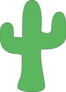 Sticky Shape Notepad - Cactus - Creative Shapes Etc.