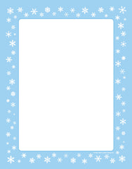 Designer Paper - Snowflakes (50 Sheet Package)