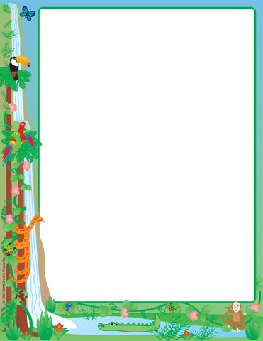 Picture of Designer Paper - Rainforest (50 Sheet Package)