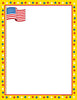 Designer Paper - Patriotic (50 Sheet Package) - Creative Shapes Etc.