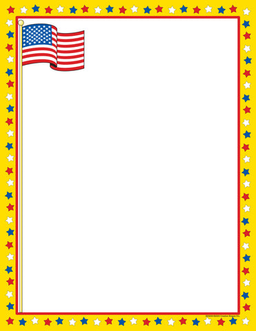 Picture of Designer Paper - Patriotic (50 Sheet Package)