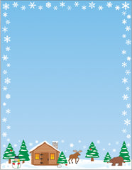Designer Paper - Winter (50 Sheet Package)