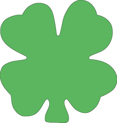 Sticky Shape Notepad - Four Leaf Clover - Creative Shapes Etc.