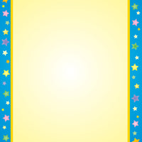 Designer Paper - Multi Star (50 Sheet Package) - Creative Shapes Etc.