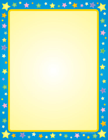 Picture of Designer Paper - Multi Star (50 Sheet Package)