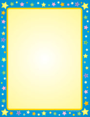 Designer Paper - Multi Star (50 Sheet Package)