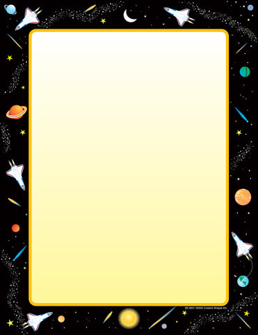 Picture of Designer Paper - Space (50 Sheet Package)