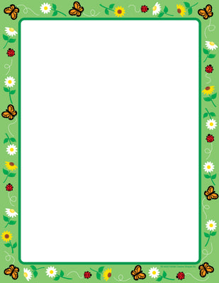 Designer Paper - Spring (50 Sheet Package) - Creative Shapes Etc.