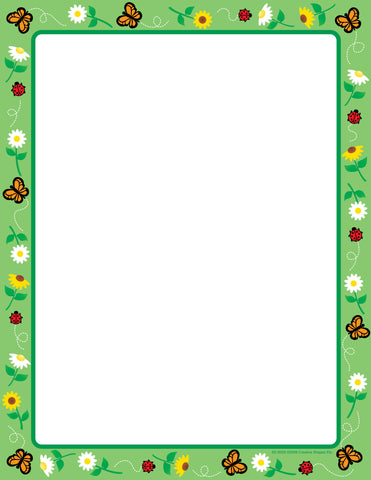 Picture of Designer Paper - Spring (50 Sheet Package)