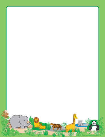 Picture of Designer Paper - Zoo