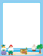 Designer Paper - Pirates (50 Sheet Package) - Creative Shapes Etc.