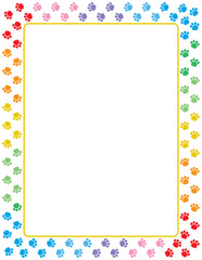 Designer Paper - Paw Print (50 Sheet Package)