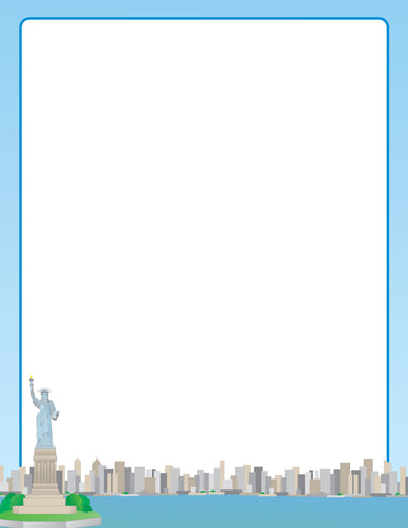 Picture of Designer Paper - NY Skyline