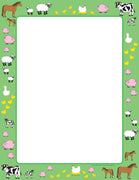 Designer Paper - Farm (50 Sheet Package) - Creative Shapes Etc.