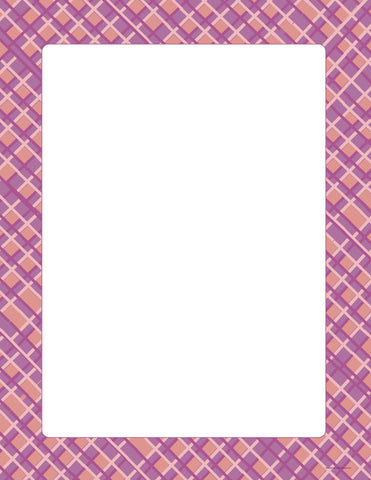 Picture of Designer Paper - Pink Plaid (50 Sheet Package)