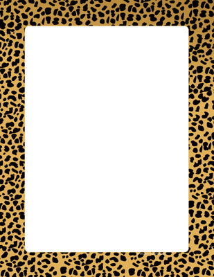 Designer Paper - Cheetah (50 Sheet Package) - Creative Shapes Etc.