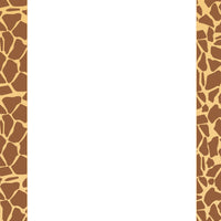 Designer Paper - Giraffe (50 Sheet Package) - Creative Shapes Etc.