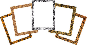 Designer Paper Set - Safari - Creative Shapes Etc.
