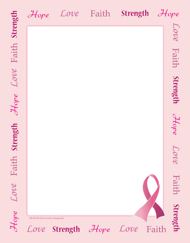 Picture of Designer Paper - Awareness Ribbon (50 Sheet Package)