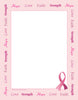 Designer Paper - Awareness Ribbon (50 Sheet Package)