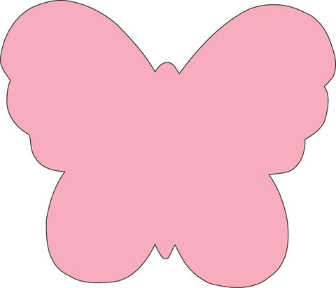 Picture of Sticky Shape Notepad - Butterfly