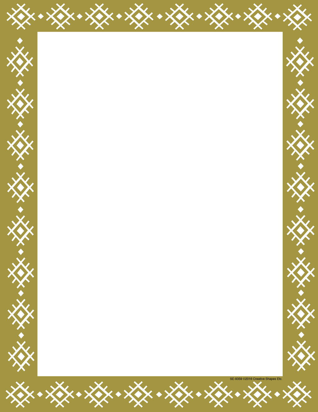 Designer Paper - Gold Wrapping Paper (50 Sheet Package) - Creative Shapes Etc.