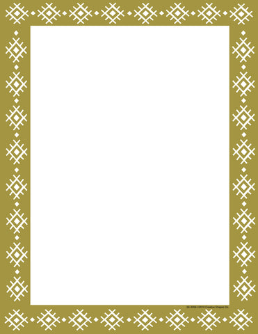Picture of Designer Paper - Gold Wrapping Paper (50 Sheet Package)