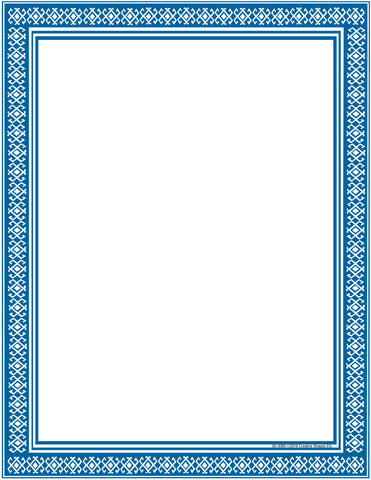 Picture of Designer Paper - Blue (50 Sheet Package)